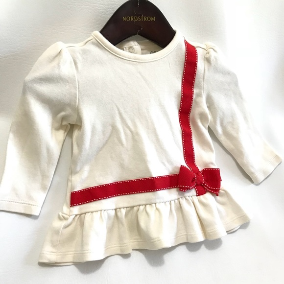 788f32d87 Gymboree Shirts & Tops   Baby Girl 36 Months Long Sleeve Ruffle Bow ...